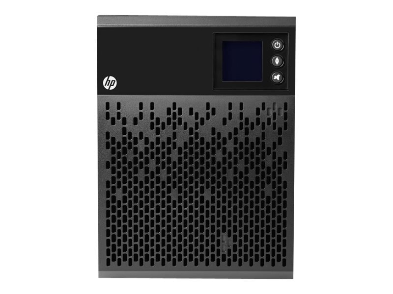 HPE T750 G4 750VA 525W 120V Line Interactive Tower UPS 5-15P Input (4) 5-15R Outlets (NA JP)