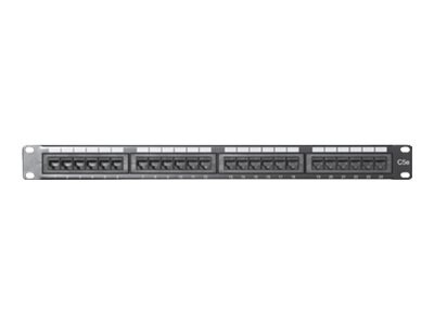 Comprehensive 24-Port CAT5E Patch Panel