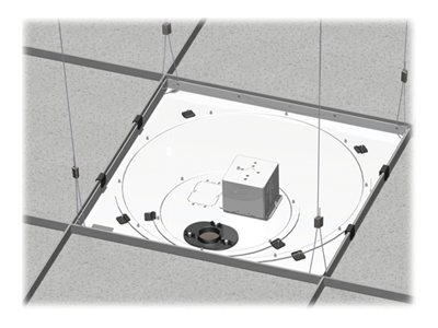 Chief Manufacturing Speed-Connect Suspended Ceiling Tile Replacement Kit with Power Outlet Housing