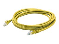 ACP-EP Cat6a UTP Patch Cable, 15', Yellow, ADD-15FCAT6A-YLW, 31834180, Cables