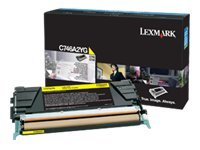 Lexmark Yellow Toner Cartridge for C746 & C748 Color Laser Printer Series, C746A2YG