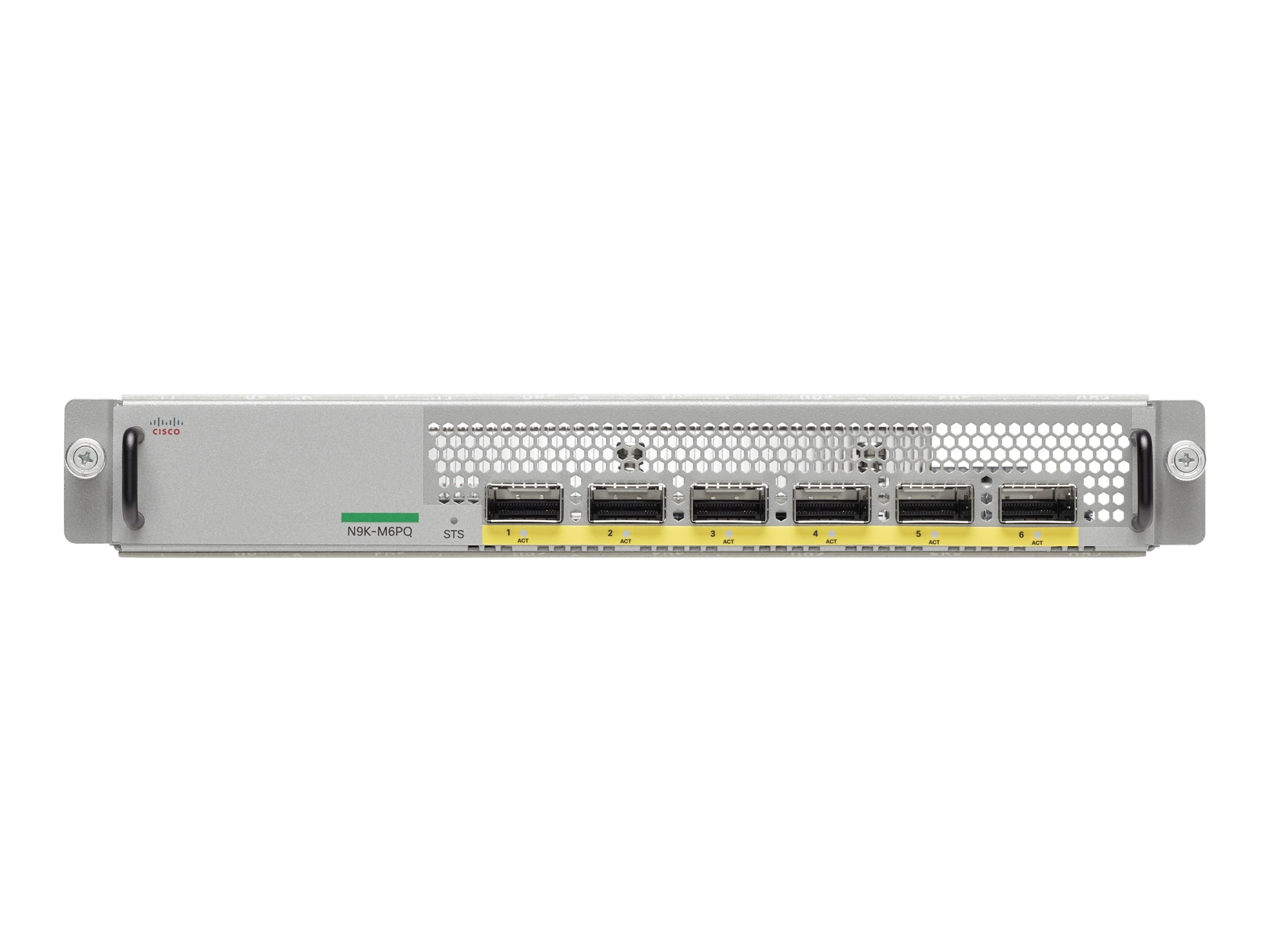 Cisco 6-port 40G QSFP Uplink Module for Nexus 9300, N9K-M6PQ