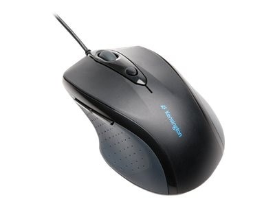Kensington Pro Fit Wired USB PS 2 Ergonomic Full Size Mouse
