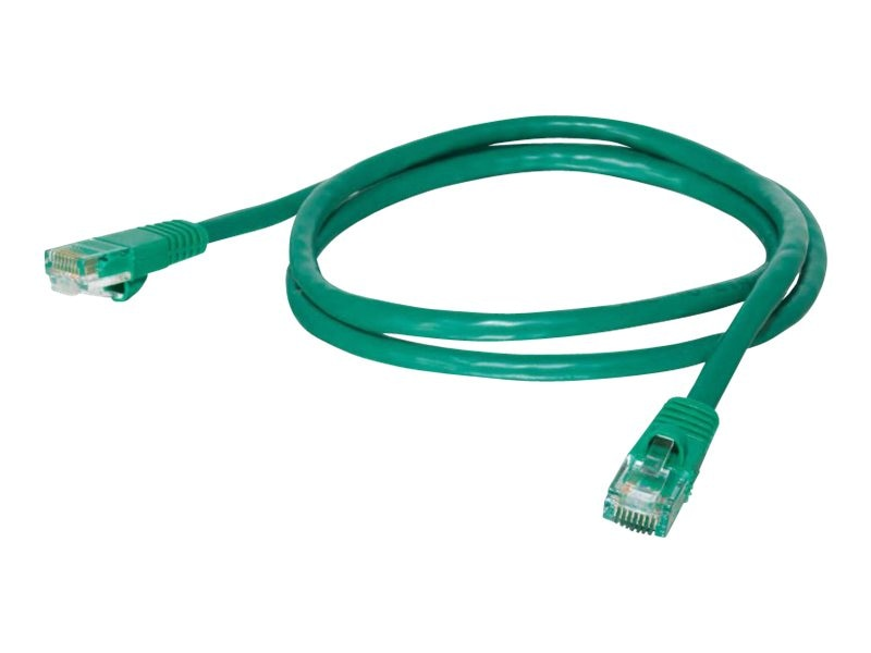 C2G Cat5e Snagless Unshielded (UTP) Network Patch Cable - Green, 5ft