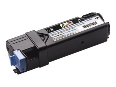 Dell 1200-page Black Toner Cartridge for Dell 2150cn, 2150cdn, 2155cn & 2155cdn Color Laser Printers
