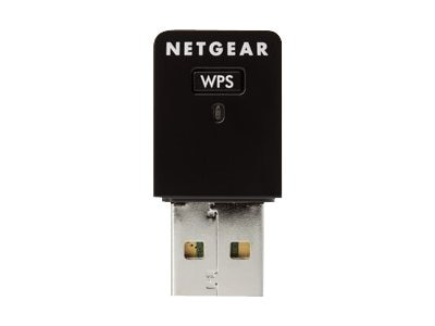 Netgear Wireless-N 300Mbps USB Mini Adapter, WNA3100M-100ENS