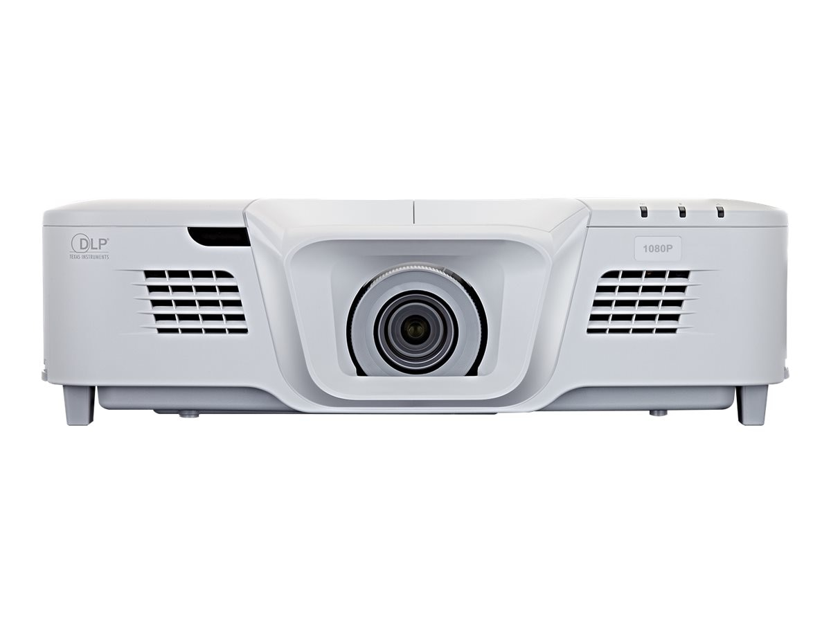 ViewSonic PRO8530HDL 1080p DLP Projector with Dual Speakers, 5200 Lumens, White, PRO8530HDL