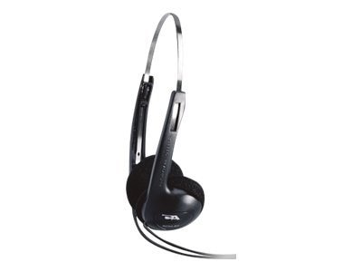 Cyber Acoustics Lightweight Stereo Headphones, ACM-62B