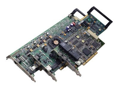 Dialogic TR1034+E2-4L, 4-Channel Analog V.34, Full Length PCIe Card, 901-007-09