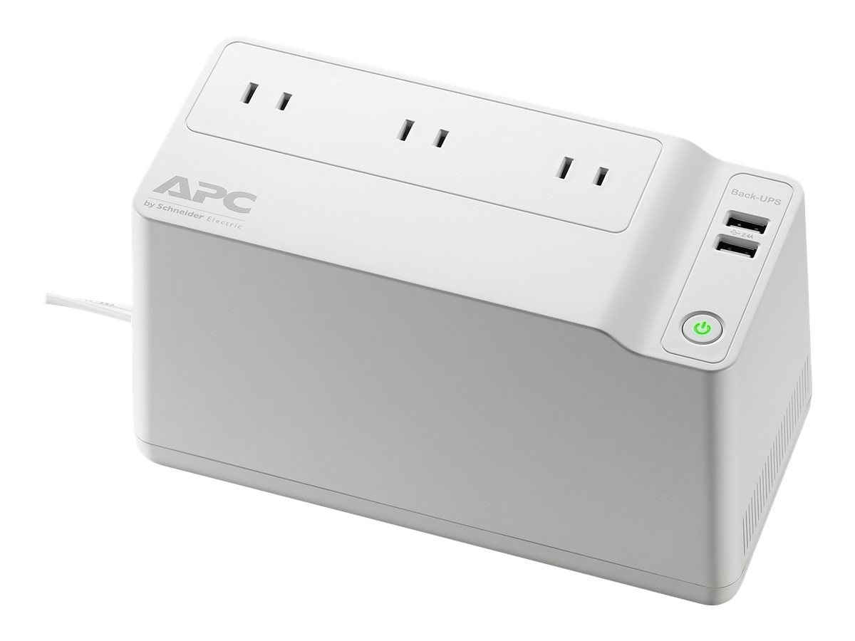 APC Back-UPS Connect 90, 120V Network Backup USB Charging Ports, Canada