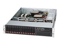 Supermicro 2U Chassis, SC213A-R720LP, CSE-213A-R720LPB, 9841586, Cases - Systems/Servers