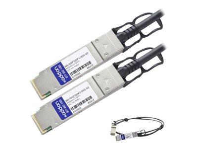 ACP-EP 40GBase-CU QSFP+ Active DAC Cable, 5m for Brocade 100, 40G-QSFP-QSFPC0501AO