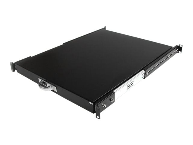 StarTech.com 22 Black Deep Sliding Server Rack Cabinet Shelf Drawer, SLIDESHELFD, 411513, Rack Mount Accessories