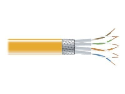 Black Box CAT6 250MHz Stranded Bulk Patch Cable, Orange, 1000ft
