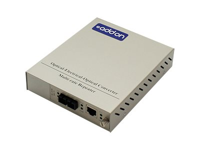 ACP-EP AddOn 1GBS 1 RJ-45 TO 1 SC  Media Converter, ADD-MCC1GMM5M-SK