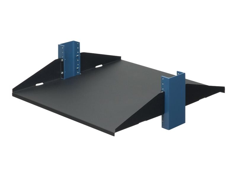 Innovation First Relay Rack Shelf Solid Flanges Up 20, 2USHL-022FULL-20US, 5513833, Rack Mount Accessories