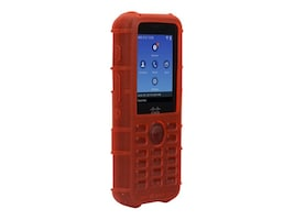 Zcover Silicone Case w LP Belt Clip, Red, Dock-in-case for Cisco 8821 8821-EX, CI821HUD, 33175704, VoIP Accessories