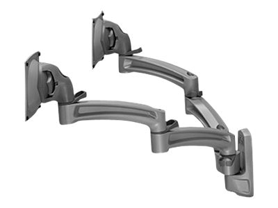 Chief Manufacturing Kontour K2W Wall Mount Swing Arms, Dual Monitors, Black, K2W220B, 18042145, Stands & Mounts - AV