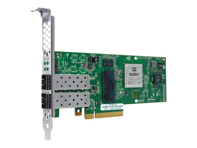 Qlogic 2-Port 10Gbps Ethernet to PCIe CNA (No Transceivers)