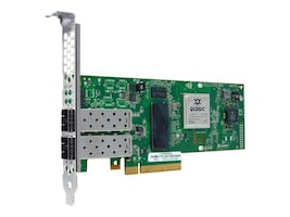 Qlogic 2-Port 10Gbps Ethernet to PCIe CNA (No Transceivers), QLE8242-CU-SP, 23099381, Network Adapters & NICs