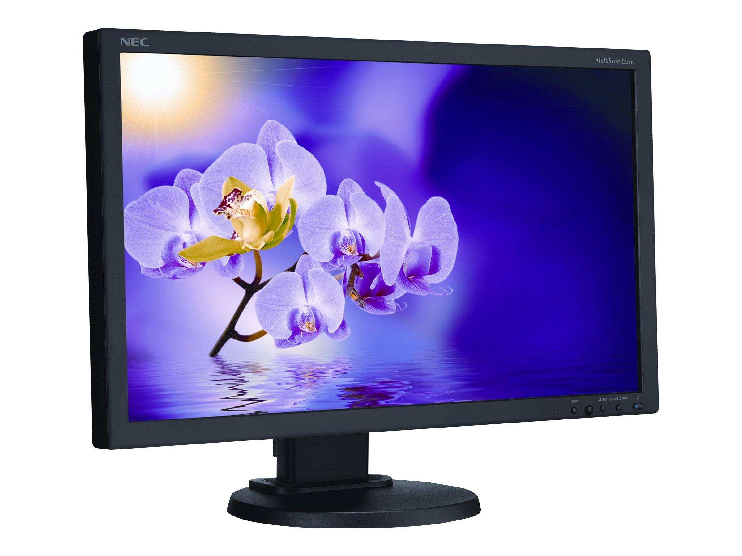 Scratch & Dent NEC 23 E231W-BK LED-LCD Monitor, Black, E231W-BK, 30861848, Monitors - LED-LCD