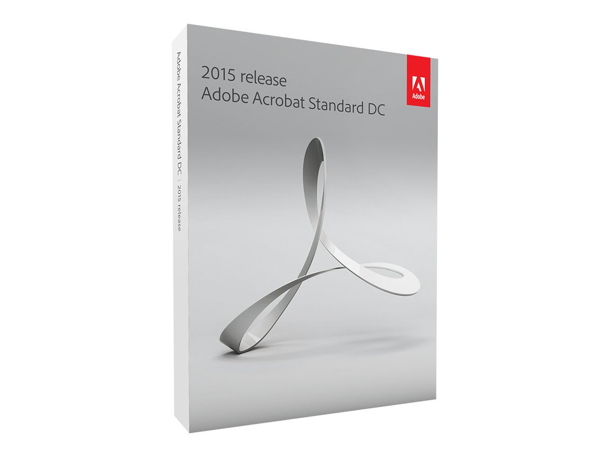 Adobe Acrobat Standard DC 2015 Win Upgrade DVD, 65259145, 19648157, Software - File Sharing