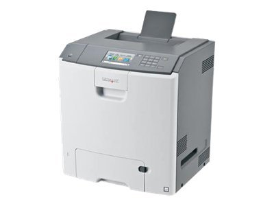 Lexmark C748de Color Laser Printer w  High Yield Toner & Implementation Support