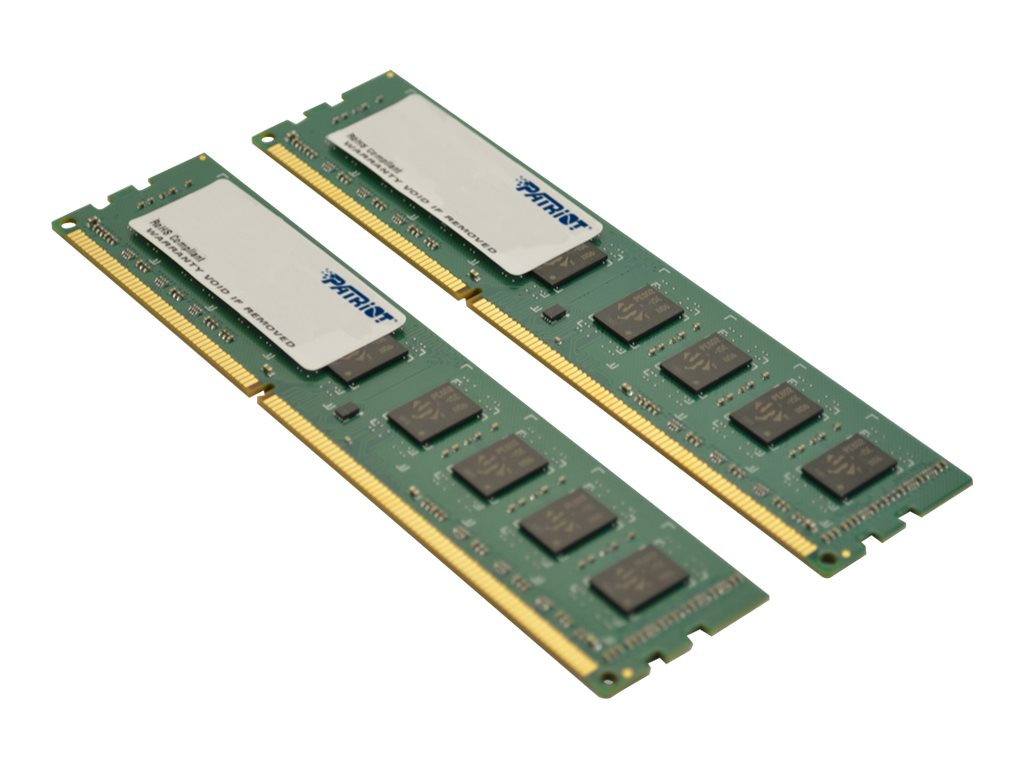 Patriot Memory 8GB PC3-12800 DDR3L SDRAM UDIMM Kit, PSD38G1600LK