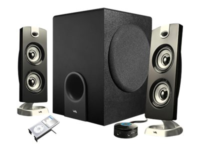 Cyber Acoustics Platinum CA-3602 3-Piece Speaker System