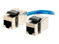 C2G Toolless Keyston Jacks, Cat6, Fully Shielded, 35221, 8819563, Premise Wiring Equipment
