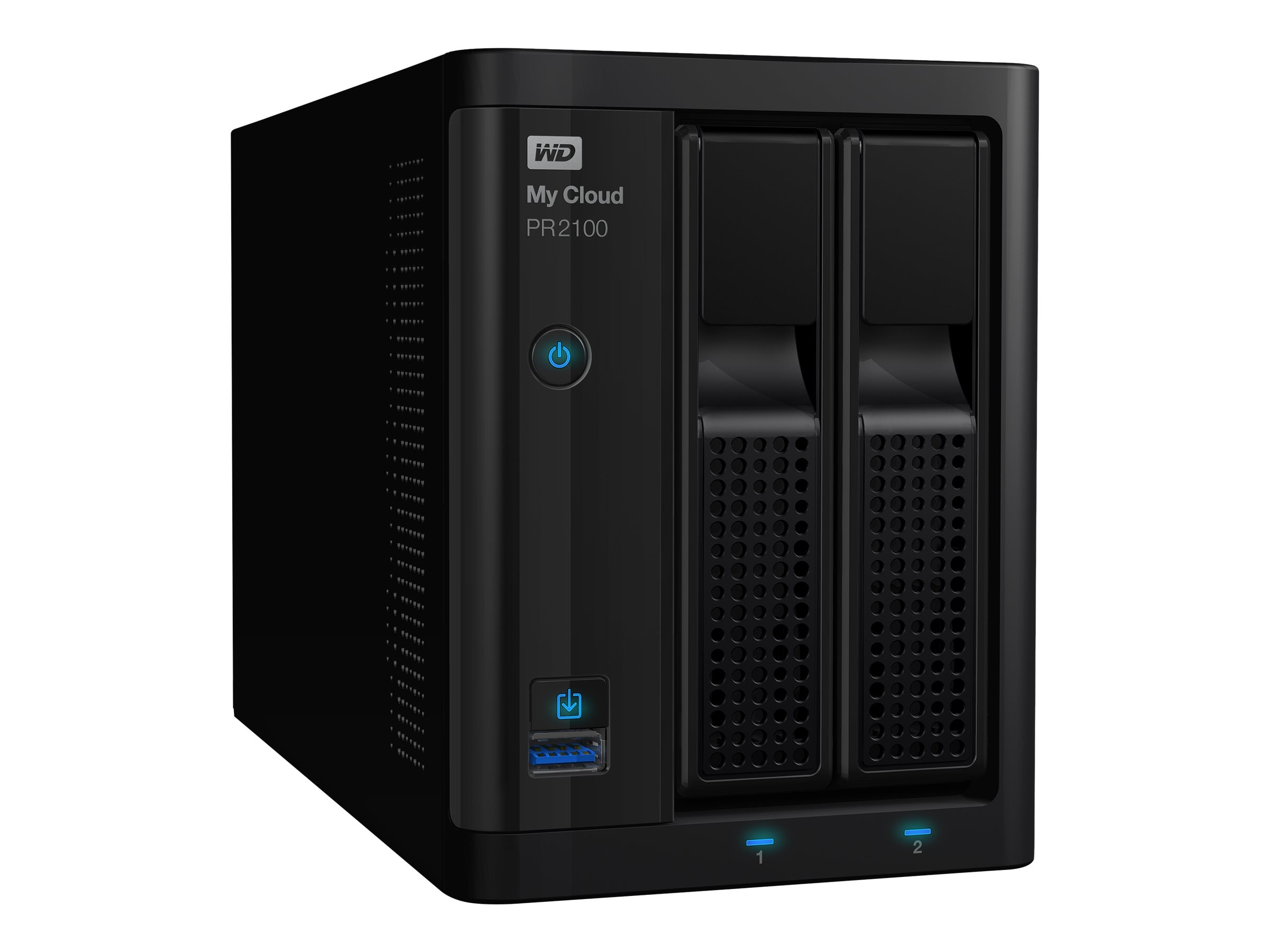 WD 8TB My Cloud Pro Series PR2100 Storage, WDBBCL0080JBK-NESN
