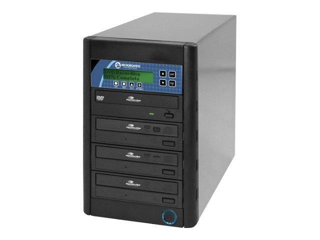 Microboards CopyWriter LightScribe 1:3 Tower Duplicator, LSDVDPRMPRO03, 9159114, Disc Duplicators