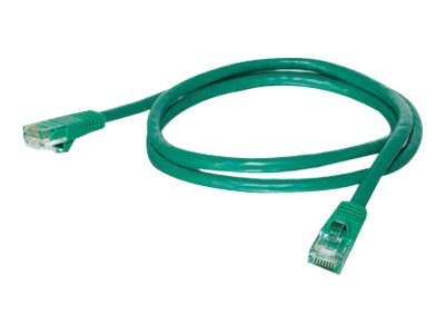C2G Cat5e Snagless Unshielded (UTP) Network Patch Cable - Green, 1ft