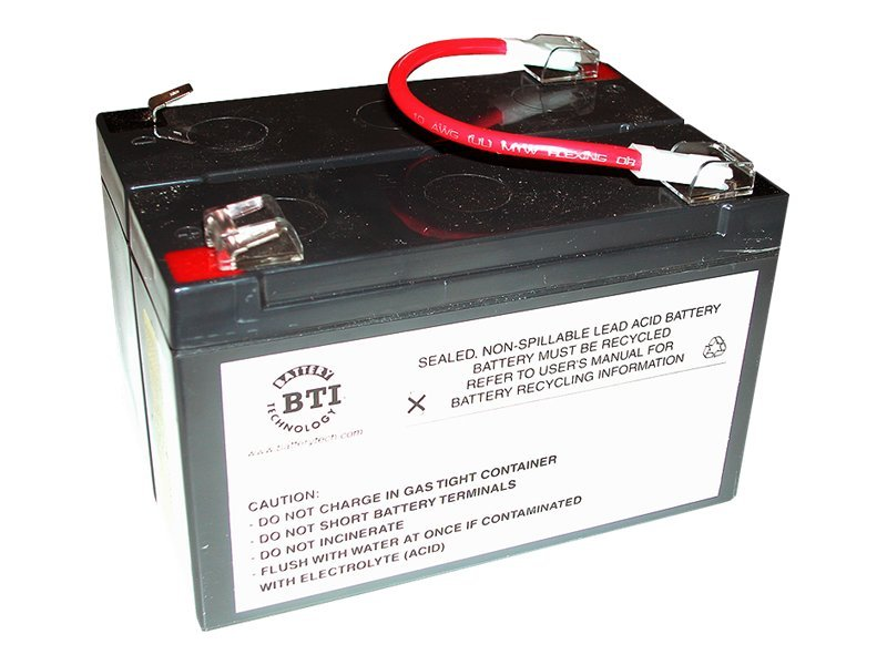 BTI Replacement Battery, RBC3, for APC BK450 and BK600 Models, RBC3-SLA3-BTI, 7197660, Batteries - Other