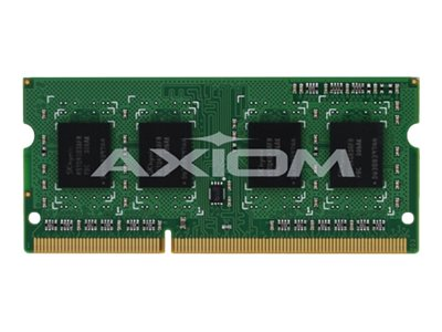 Axiom 4GB PC3-12800 DDR3 SDRAM SODIMM for Latitude E6540, AX53493694/1, 16233618, Memory