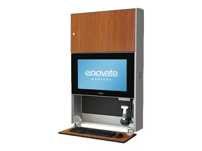 Enovate E750 Lite Wall Station with eLift, Wild Cherry, E750T7-N4W-00WC-0, 16911992, Wall Stations