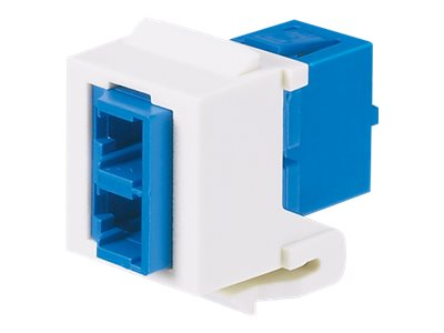 Panduit NK LC Duplex Adapter Module, Single-mode, NKDLCMZBL