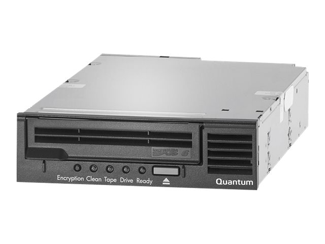 Quantum LTO-6 HH SAS 6Gb s Model C 5.25 Internal Tape Drive - Black, TC-L62AN-EY-C