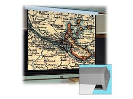 Draper Targa Matte White Motorized Projection Screen, NTSC 4:3, 84in, 116014, 6043466, Projector Screens