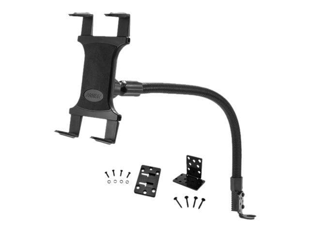 Arkon Car or Truck Seat Rail or Floor Tablet Mount with 22 Arm for iPad Air 2, iPad 4, 3, 2, Galaxy Note
