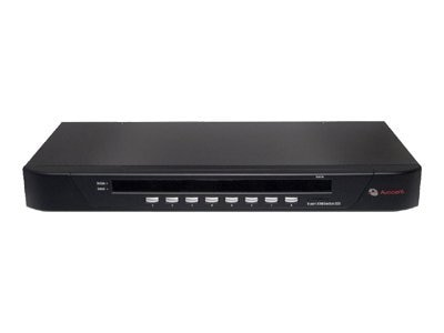 Avocent Switchview 8-port KVM Switch (1) Local User, OSD USB and PS 2 Support, 8SV1000-001, 7220364, KVM Switches
