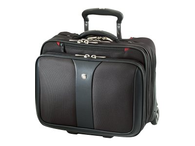 Wenger Wenger Patriot Rolling Notebook Case, Fits 17 Notebook, WA-7953-02F00, 9879533, Carrying Cases - Notebook