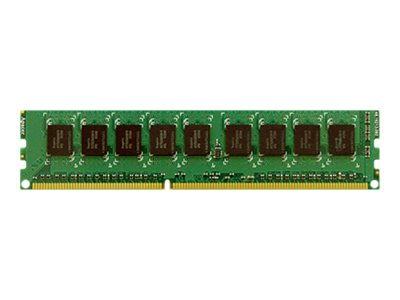 Synology 4GB PC3-12800 DDR3 SDRAM UDIMM for DS3615xs RS3413xs+, RS3614xs, RS3614RPxs, RS3614xs+, 2-Pack, RAM-4G-ECC-X2, 18891745, Memory