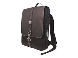 Mobile Edge Slimline Paris Backpack, Fits 15.4 Notebook, Black, MEBPW1-SL, 7735755, Carrying Cases - Notebook