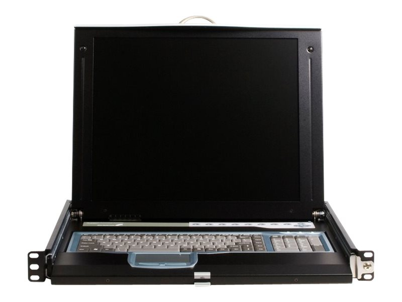 StarTech.com 17 Rackmount LCD Console with 16-port KVM Switch, CABCONS1716I, 8643684, KVM Displays & Accessories