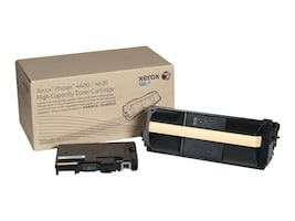 Xerox Black High Capacity Toner Cartridge for Phaser 4600 & 4620 Series, 106R01535, 12606579, Toner and Imaging Components