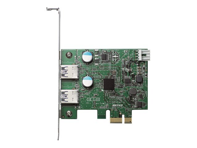 BUFFALO USB 3.0 PCI Express Interface Card, IFC-PCIE2U3S2, 13791454, Controller Cards & I/O Boards
