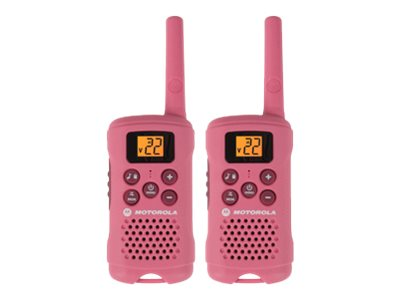 Motorola MG167A Talkabout 2-Way Radio - Pink, MG167A, 15621344, Two-Way Radios