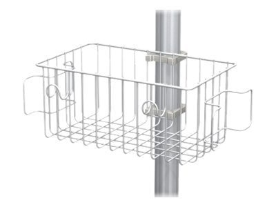 GCX 6 Utility Basket for 2 Posts, RS-0001-24, 17464741, Cart & Wall Station Accessories