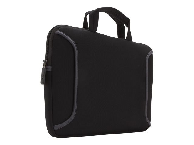 Case Logic 7-10 Netbook Sleeve, Black, LNEO-10BLACK, 11737526, Carrying Cases - Notebook